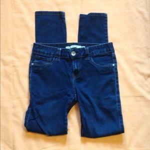 Juniors Size 7 Grane Dark Wash Skinny Jeans